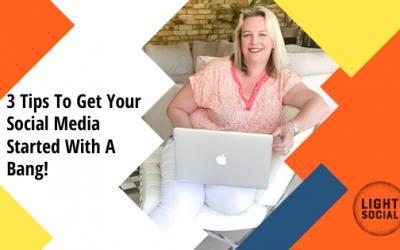 How to Win at Social Media:  3 tips to get started properly.