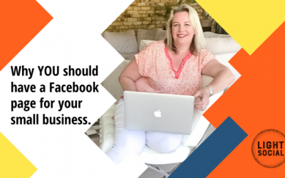 Why YOU should have a Facebook Page for Your Small Business